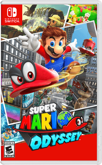 Super Mario Odyessy - Retail Edition