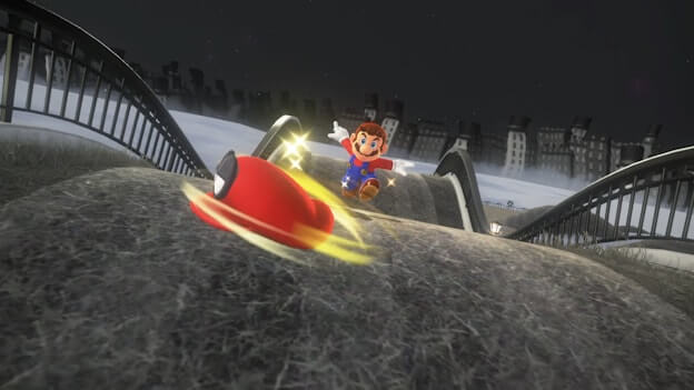 mario odyssey how to do a cappy roll jump