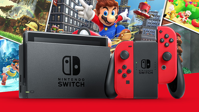Announcing the Super Mario Odyssey hardware bundle