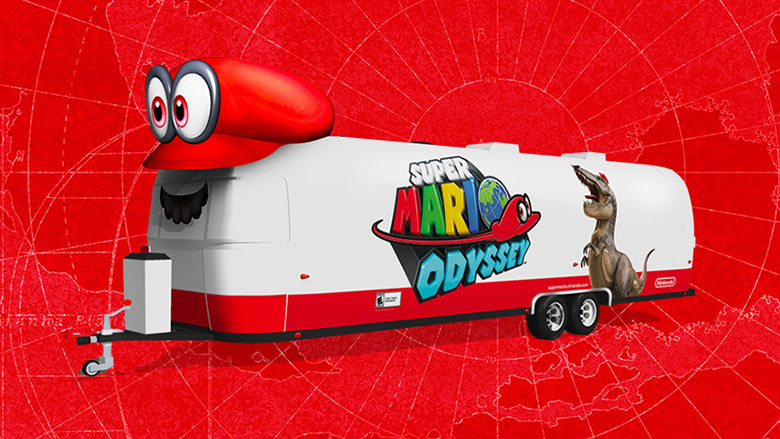 Join Mario on his journey across the United States